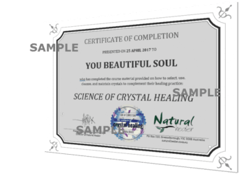 Science of Crystal Healing Certificate (PDF)