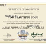 Energy Healing with Hand Mudras Certificate (PDF)