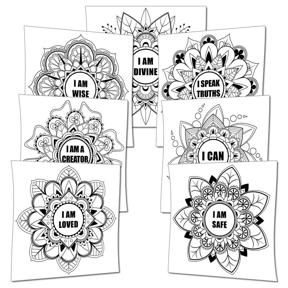 Affirmations Mandalas (PDF)