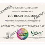 Colour & Art Certificate of Completion (PDF)