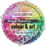 Colour & Art Seal of Completion (JPG)