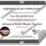 Advanced Reiki Master Teacher Certificate (PDF)