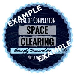 Space Clearing Seal of Completion (JPG)