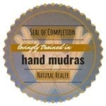 Energy Healing Hand Mudras Seal of Completion